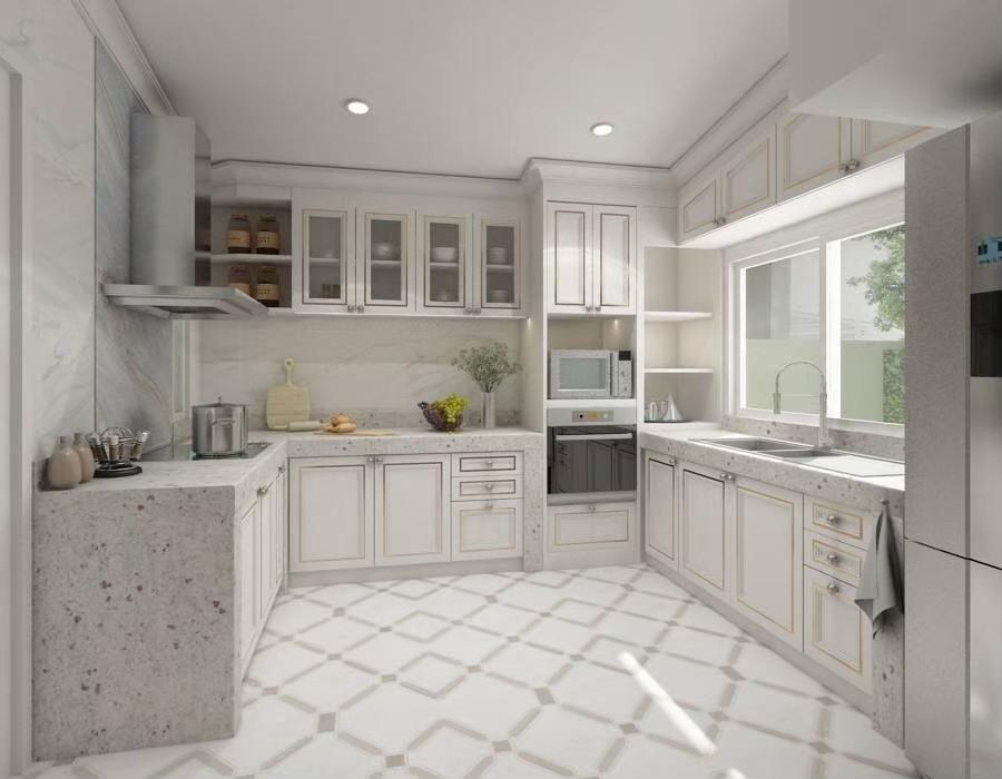 แบบห้องครัวภายในบ้าน