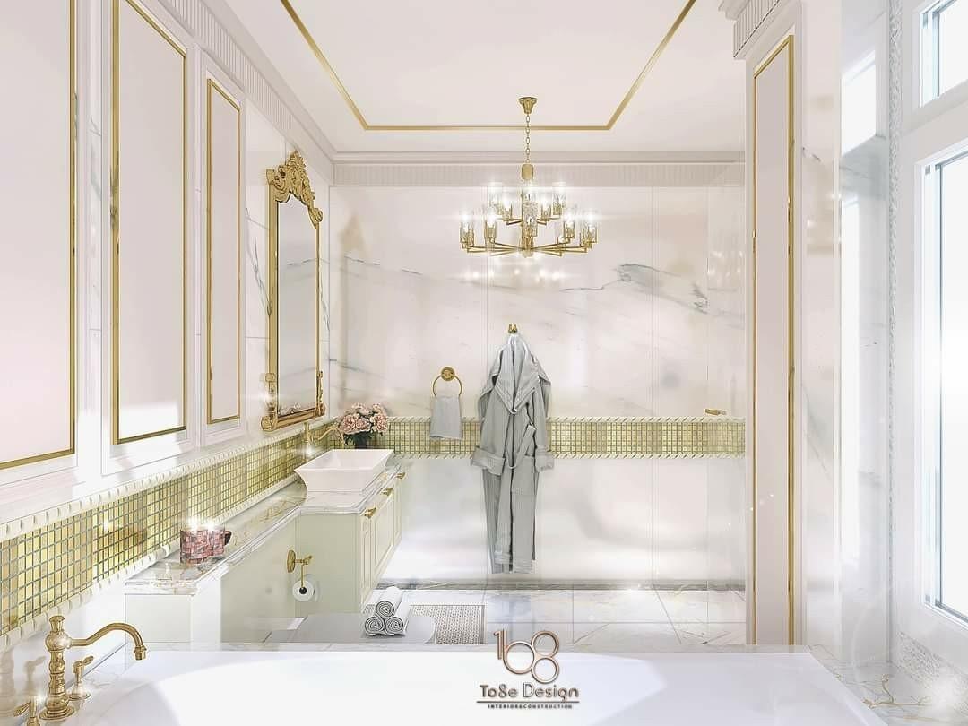 รับออกแบบตกแต่งภายในห้องน้่ำ