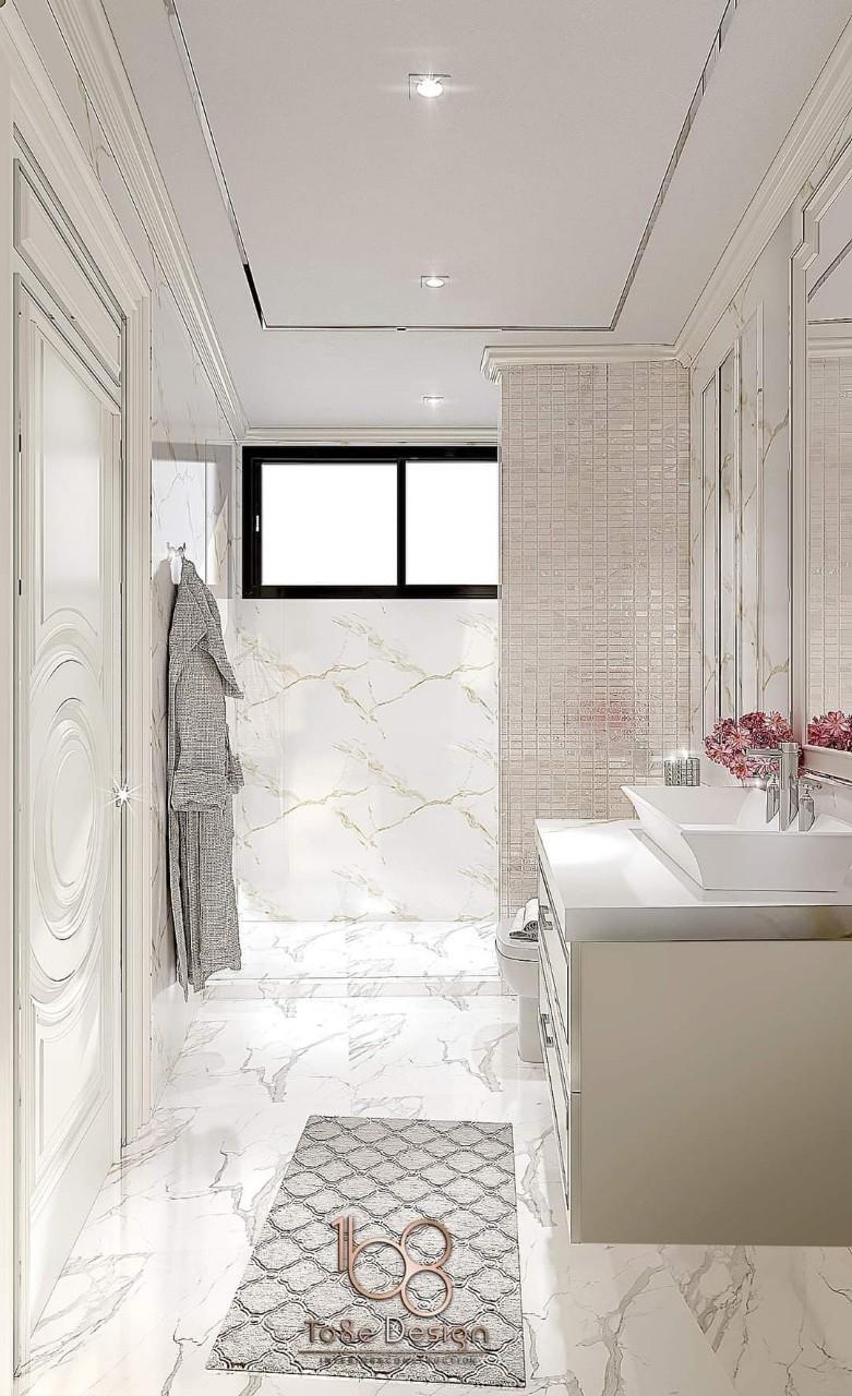 บริการรับออกแบบตกแต่งภายในห้องน้ำ
