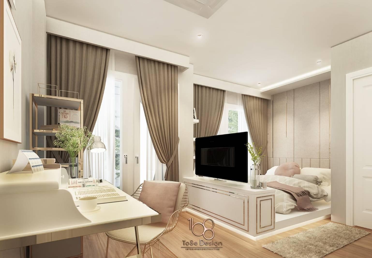ห้องนอน-รับออกแบบตกแต่งภายใน