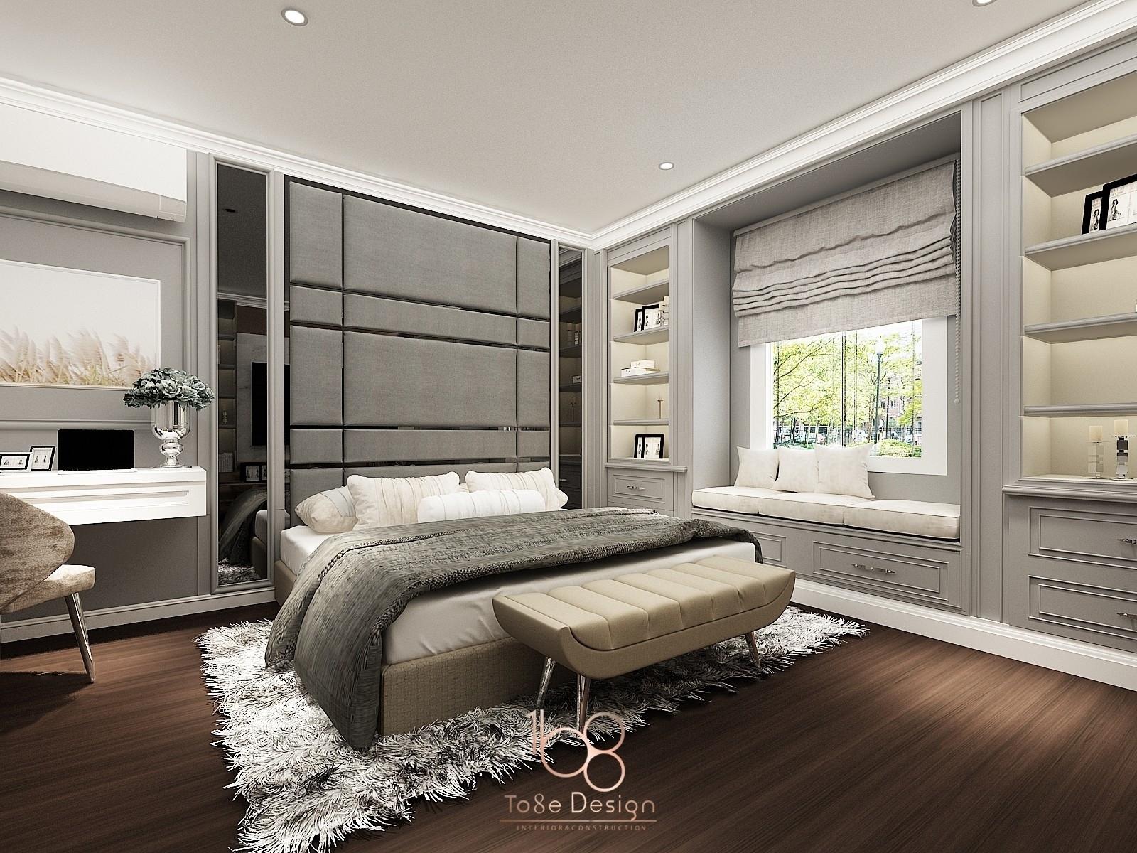 บริษัทรับออกแบบตกแต่งภายใน-ห้องนอน