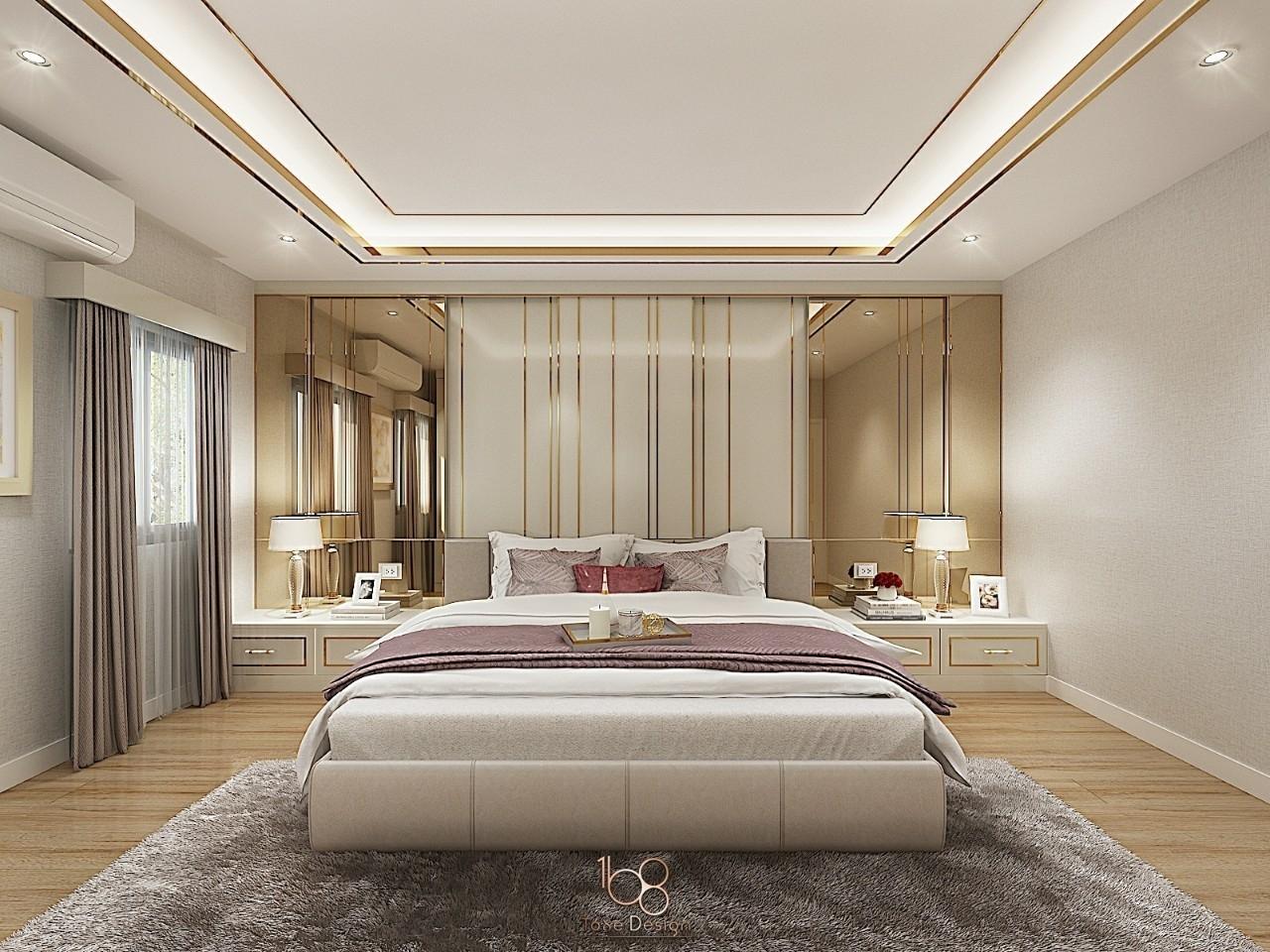 ออกแบบภายในห้องนอน